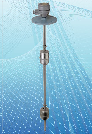 Vertical Float Switch Stainless Steel Type For High Temp. Application